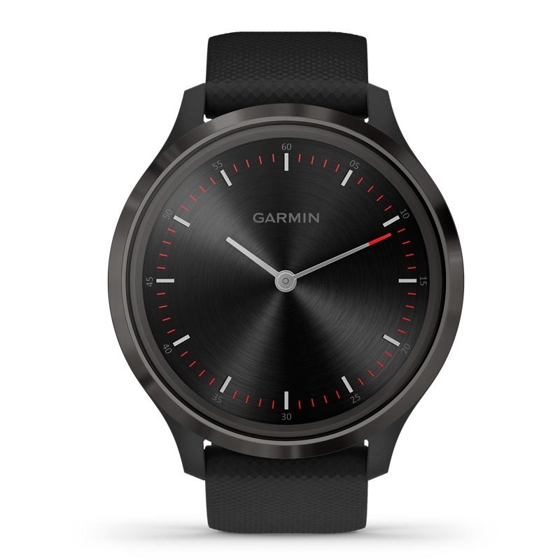 Reloj Garmin vívomove 3 de hombre en negro con acero revestido, 010-02239-01.