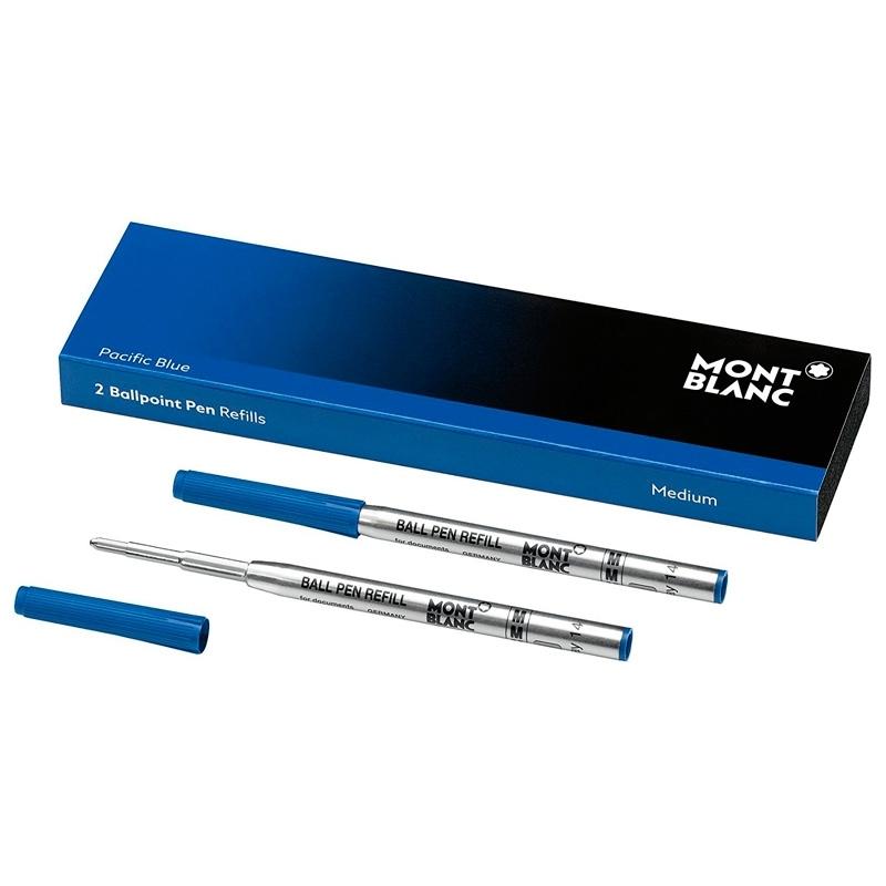 Recambios para bolígrafos (M) en color azul de Montblanc, 116213.