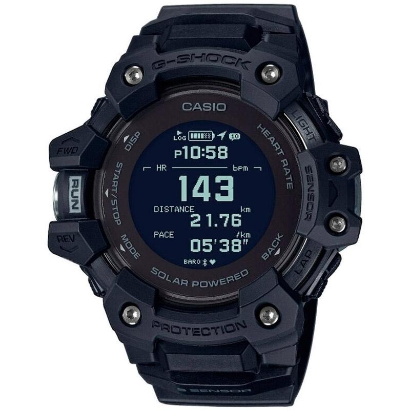 Reloj Casio G-Shock G-Squad Solar con Bluetooth® en negro, GBD-H1000-1ER.