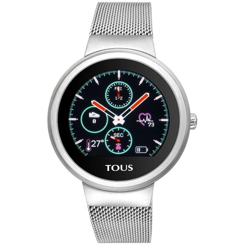 Reloj Activity Tous Rond Touch en acero con malla y 5 interfaces, 000351640.