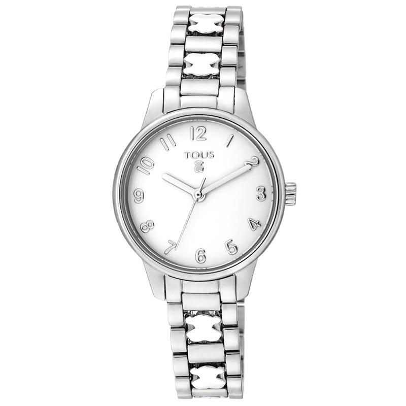 Reloj Tous Beary de mujer en acero, ref. 000351395.
