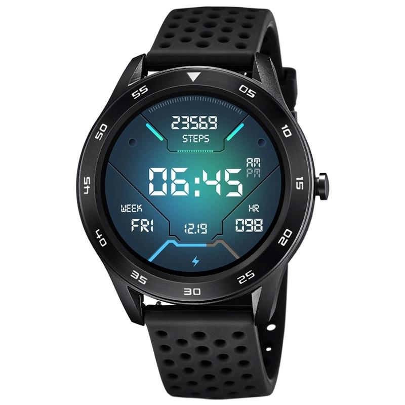 Reloj inteligente Lotus Smartime de hombre negro con correa extra azul, 50013/5.