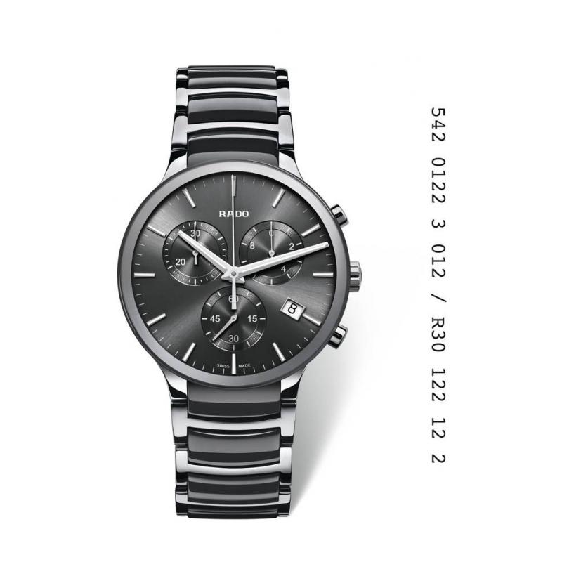 "Reloj Rado de hombre con cronógrafo ""Centrix"" R30122122"