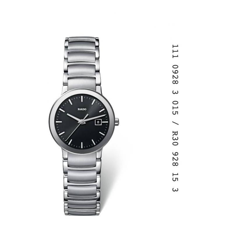 """Reloj Rado de mujer en acero """"Centrix"""" R30928153"""