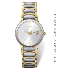 "Reloj Reloj de hombre en acero chapado ""Centrix"" R30931103"