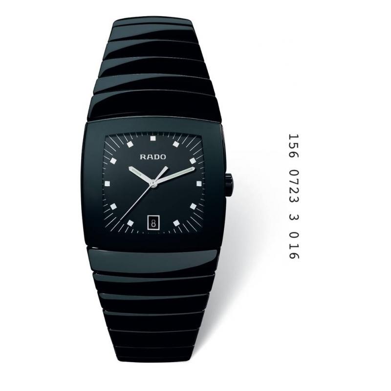 """Reloj Rado de hombre """"Sintra"""" en cerámica negra R13723162"""