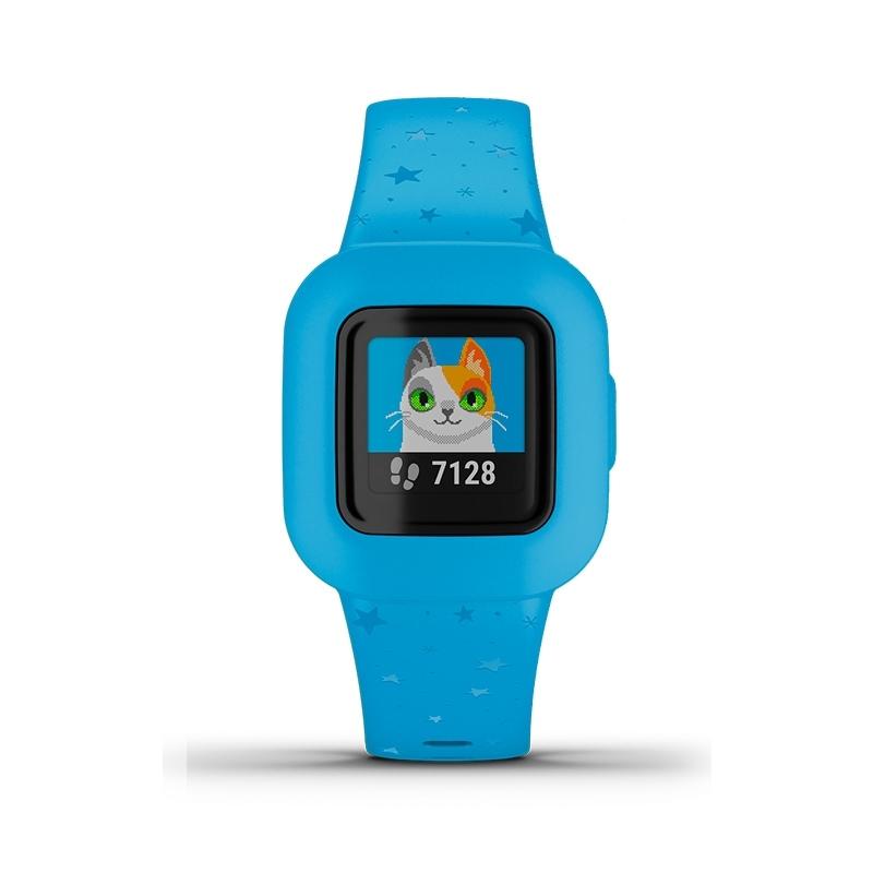 Reloj Garmin vívofit® jr. 3 para niños y niñas en azul, 010-02441-02.