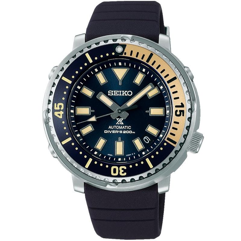 Reloj Seiko Prospex tipo Tuna, automático Diver's 200 m. en azul, SRPF81K1.