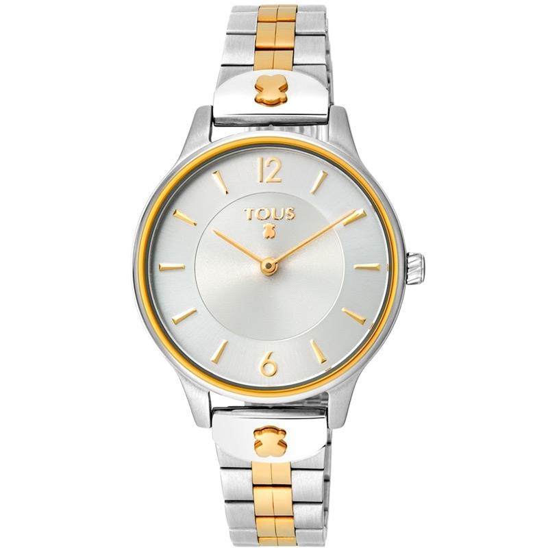 Reloj Tous Len para mujer en acero bicolor dorado, 100350425.