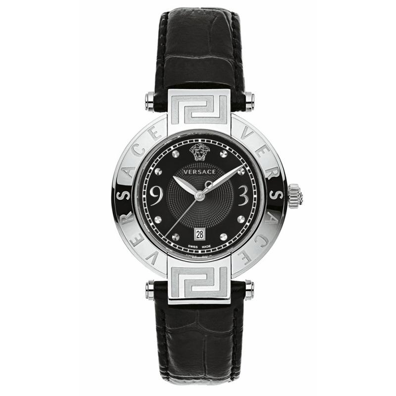 Reloj Versace Rêve de mujer con correa piel negra 68Q99D009S009