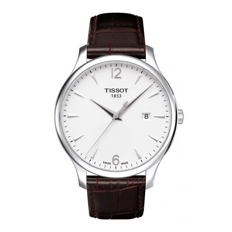 Reloj Tissot Tradiction de hombre 3 agujas piel T0636101603700