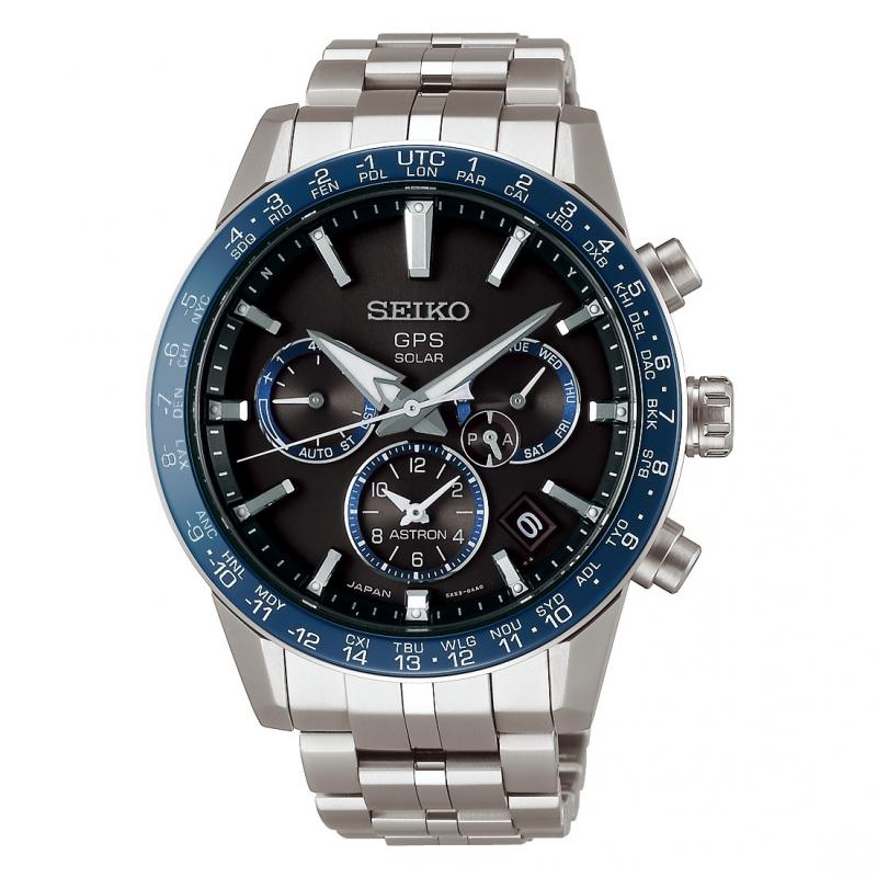 Reloj Seiko Astron 5X53 de hombre en titanio, con GPS y tecnología solar SSH001J1.