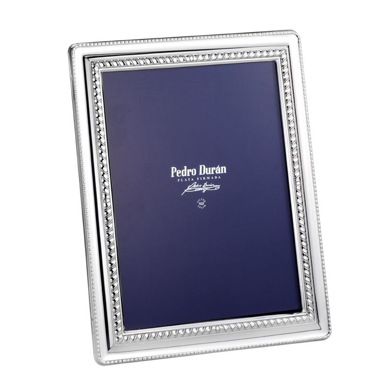 "marcos de fotos en plata Pedro Durán ""Sorolla"" 18x13 cms."