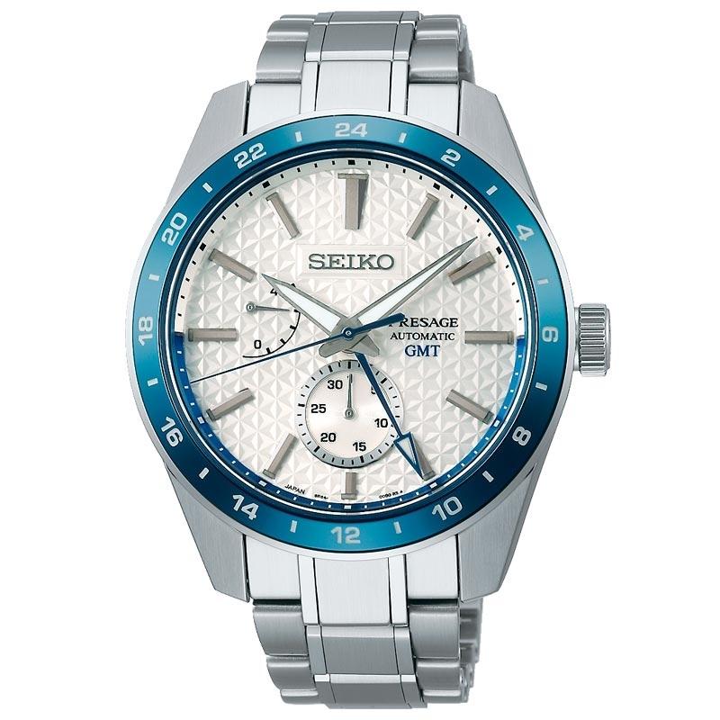 Reloj Seiko Presage 140º Aniversario Edición Limitada, automático y GMT, SPB223J1.