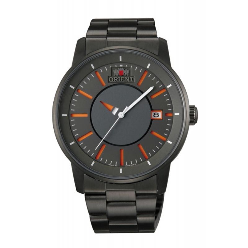 Reloj Orient Disk automático de hombre en acero gris ER02006A