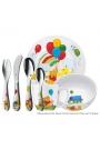 Cubiertos infantiles de acero Winnie the Pooh 7 piezas, de WMF