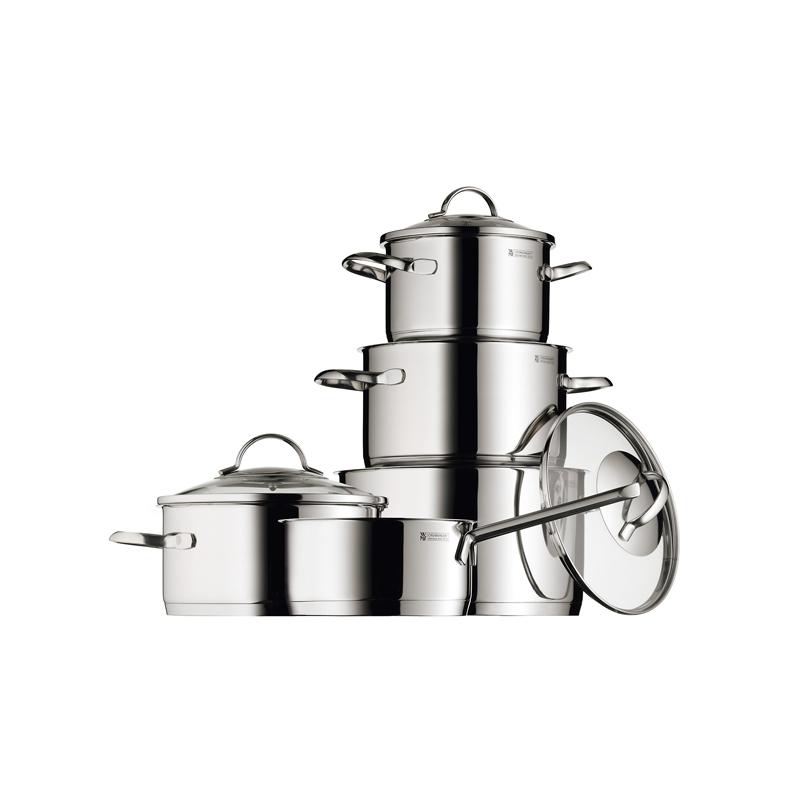 """Bateria de cocina en acero inoxidable 5 piezas """"Providence"""" de WMF"""