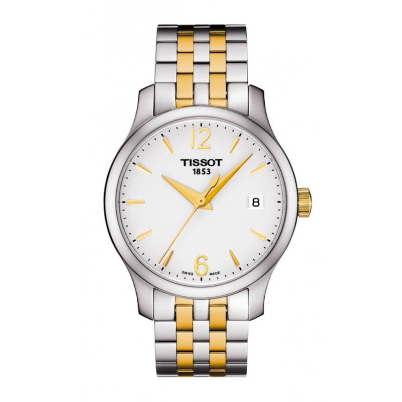 Reloj Tissot Tradition de mujer en acero bicolor T0632102203700