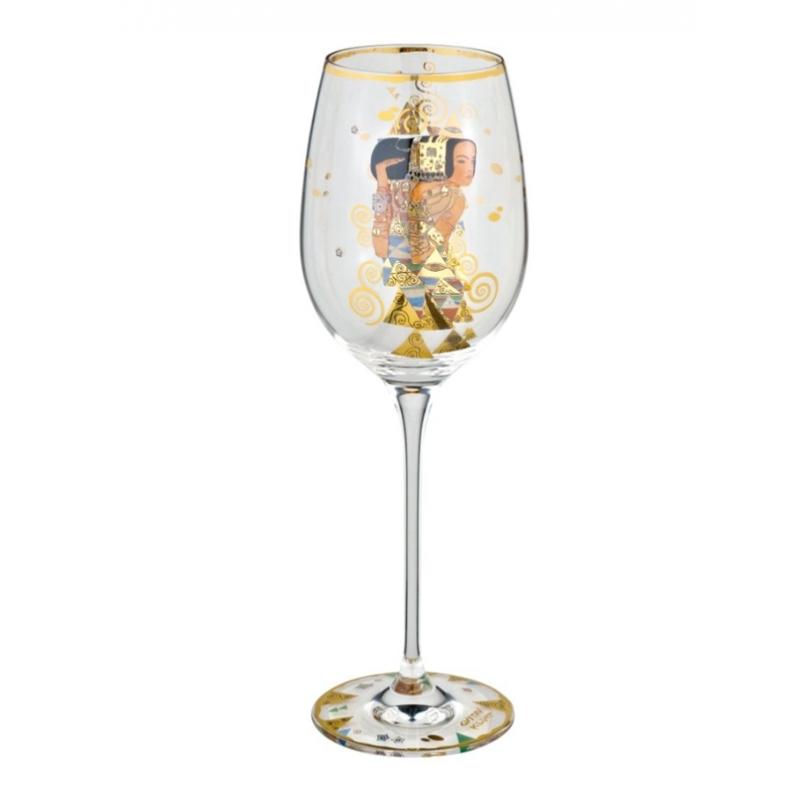 """Copa de vino """"La espectativa"""" de Gustav Klimt, Goeble"""