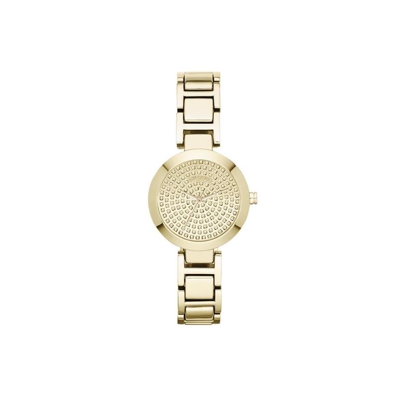 """Reloj DKNY de mujer en dorado esfera de circonitas """"Stanhope"""" NY8892"""