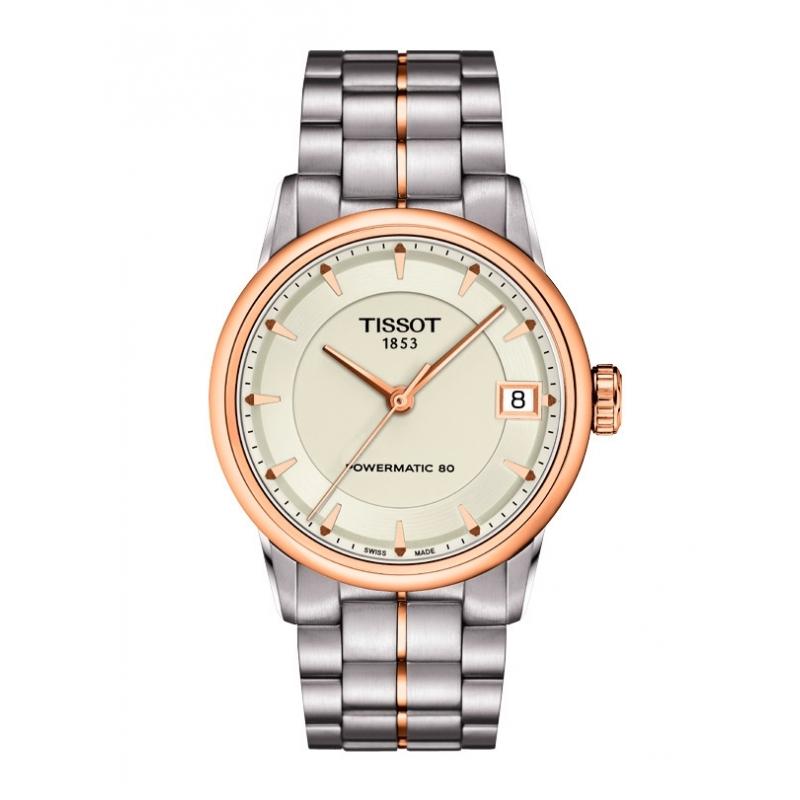 """Reloj Tissot """"Luxury"""" de mujer automático en acero con dorado T0862072226101"""
