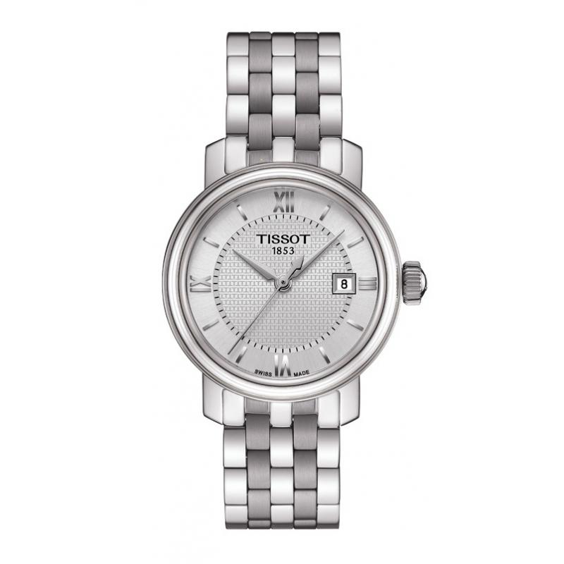 """Reloj Tissot de mujer """"Bridgeport"""" en acero, clásico T0970101103800"""