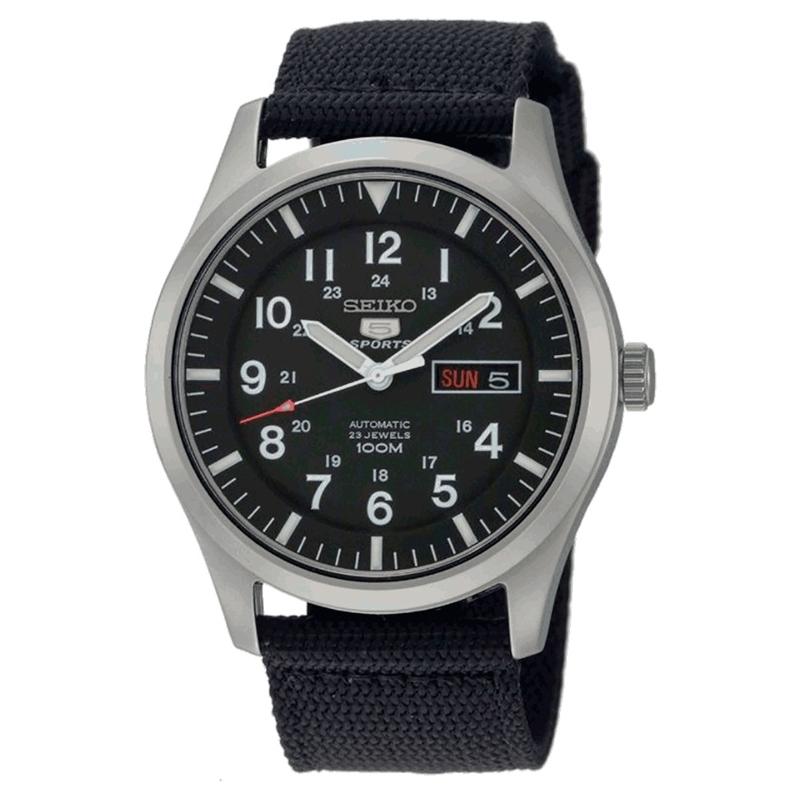 """Reloj Seiko """"Seiko 5"""" automático de hombre negro SNZG15K1"""