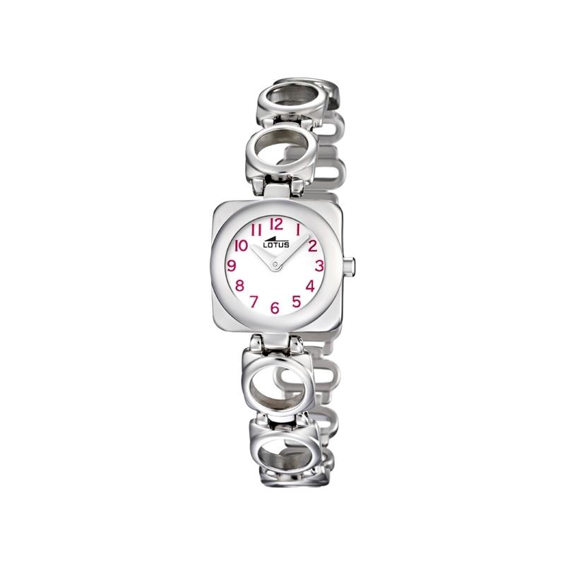 """Reloj Lotus de niña """"Junior"""" en acero, ref. 15712/2"""