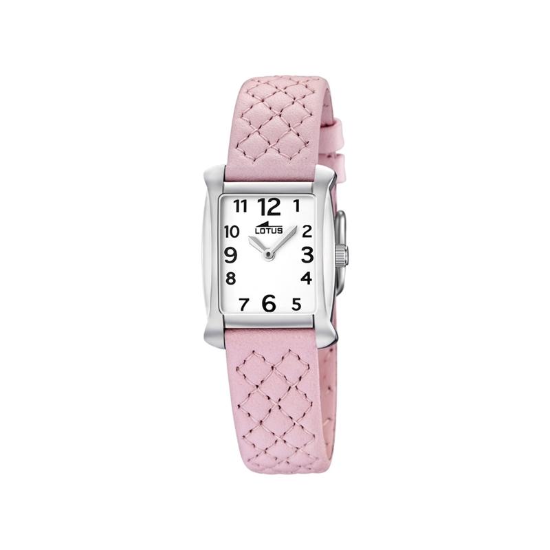 """Reloj Lotus de niña """"Junior"""" correa piel rosa ref. 15711/6"""