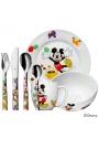 """Cubiertos de acero de """"Mickey Mouse"""" para niño o niña, de 7 piezas WMF"""