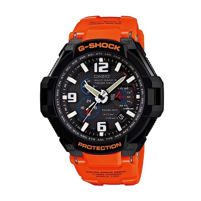 Reloj Casio G-Shock Premiun Wave Receptor y Tough Solar de hombre GW-4000R-4AER