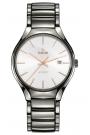 Reloj Rado True automático, de hombre en cerámica gris R27057112