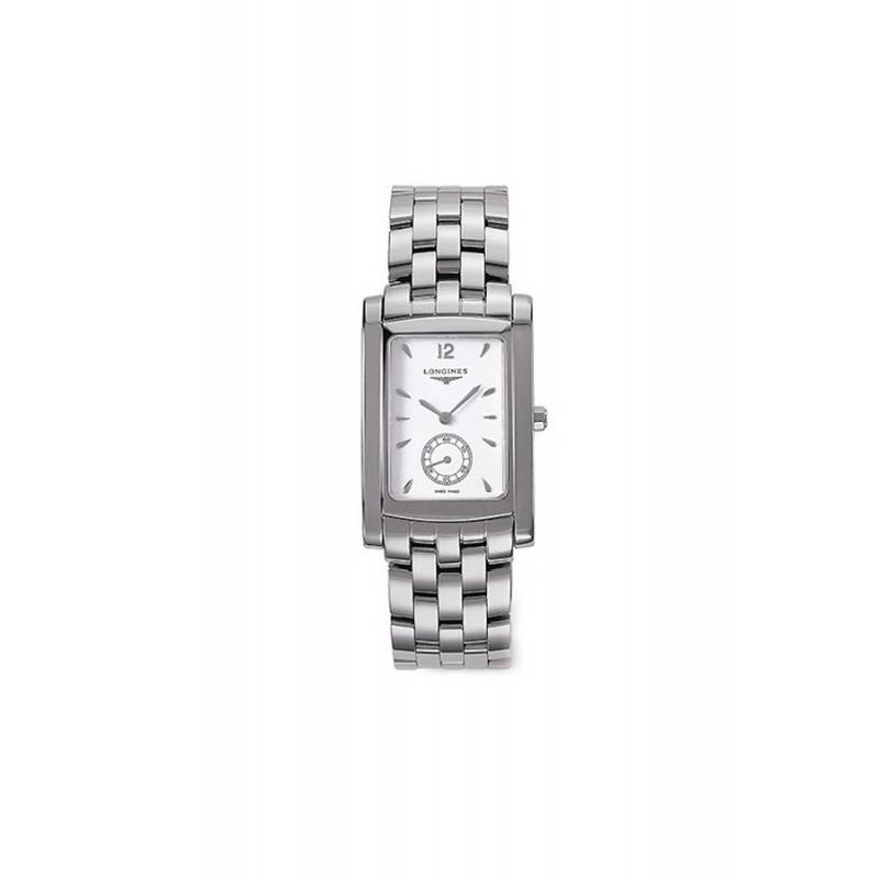 "Reloj Longines ""Dolce Vita"" de hombre rectangular en acero L56554166"