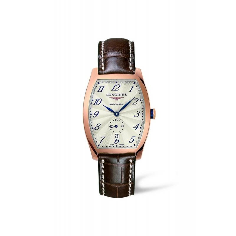 """Reloj Longines """"Evidenza"""" de hombre automático en caja de oro rojo L26428734"""