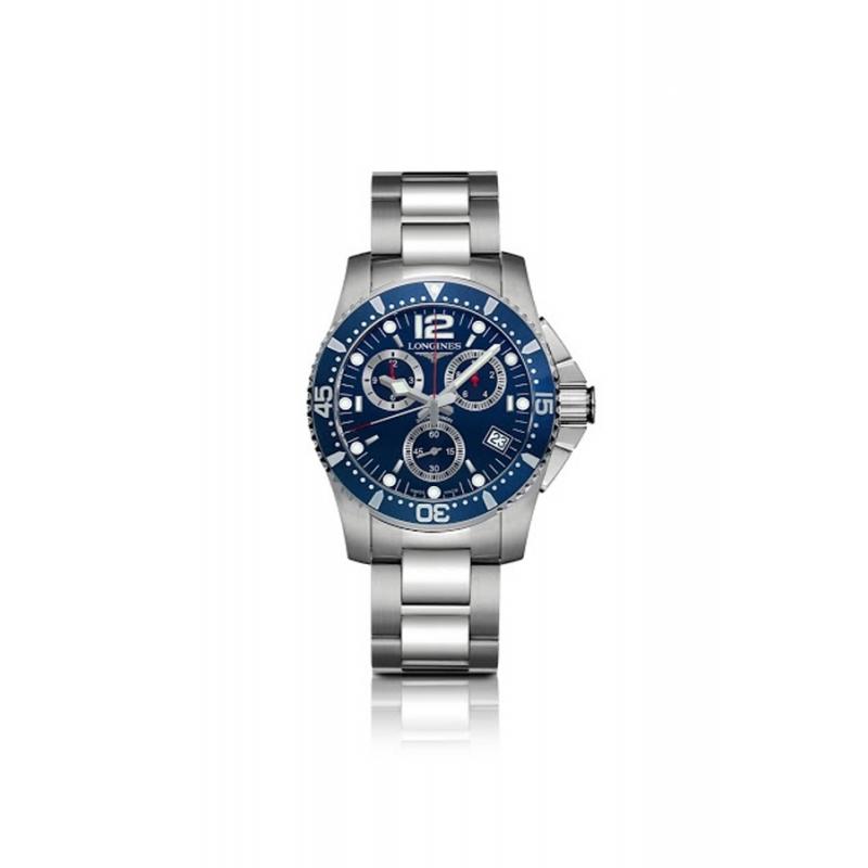 "Reloj Longines ""HydroConquest"" de hombre cronógrafo en azul L36434966"
