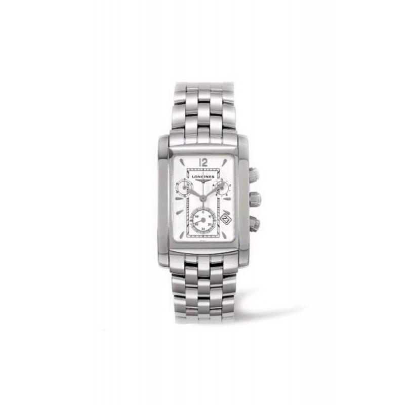 Reloj Longines Dolce Vita de hombre cronógrafo en acero L56564166