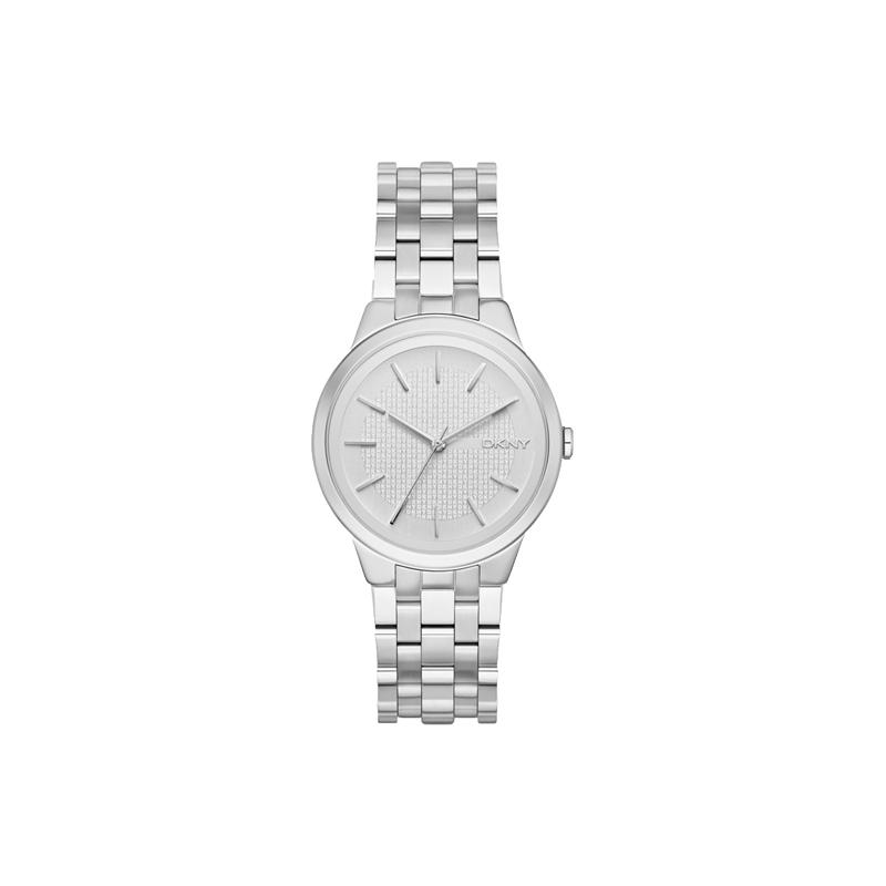 """Reloj DKNY de mujer, estilo clásico en acero, """"Park Slope"""" NY2381"""