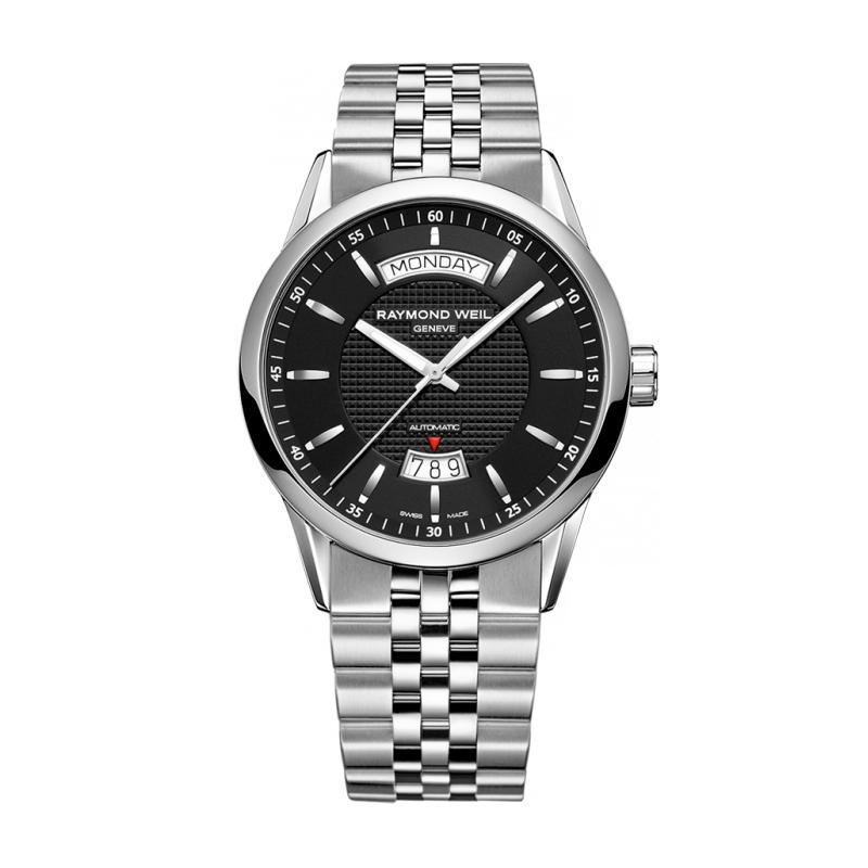 "Reloj Raymond Weil automático para hombre en acero ""Freelancer"" 2720-ST-20021"