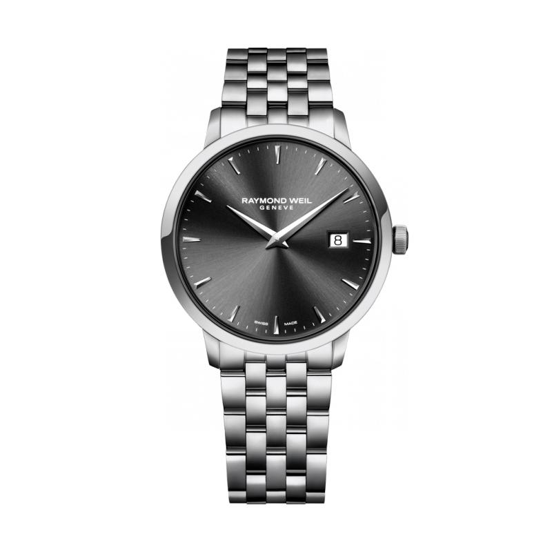 "Reloj Raymond Weil de hombre ""Toccata"" en acero de estilo clásico 5488-ST-60001"