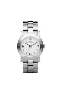 """Reloj Marc by Marc Jacobs de mujer """"Amy"""" en acero con circonitas en esfera MBM3054."""