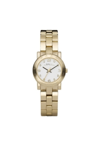"""Reloj Marc by Marc Jacobs de mujer """"Amy"""" dorado en oro amarillo y circonitas MBM3057."""