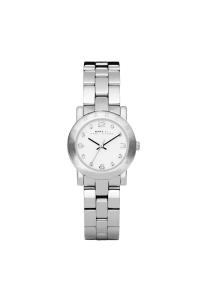 """Reloj Marc by Marc Jacobs de mujer """"Amy"""", de acero con circonitas en esfera MBM3055."""