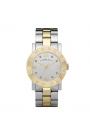 """Reloj Marc by Marc Jacobs de mujer """"Amy"""" en acero parcialmente dorado, con circontias MBM3139."""