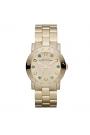 """Reloj Marc by Marc Jacobs de mujer """"Amy"""" dorado en oro amarillo, con circonitas MBM3215"""