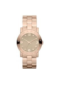 """Reloj Marc by Marc Jacobs de mujer """"Amy"""" dorado en oro rosa, con circonitas MBM3221."""