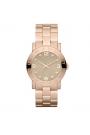 """Reloj Marc by Marc Jacobs de mujer """"Amy"""" dorado en oro rosa, con circonitas MBM3221"""