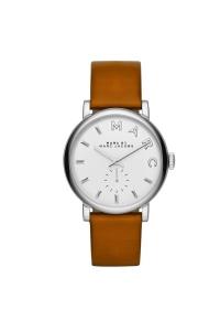 """Reloj Marc by Marc Jacobs de mujer """"Baker"""" con correa de piel marrón MBM1265."""