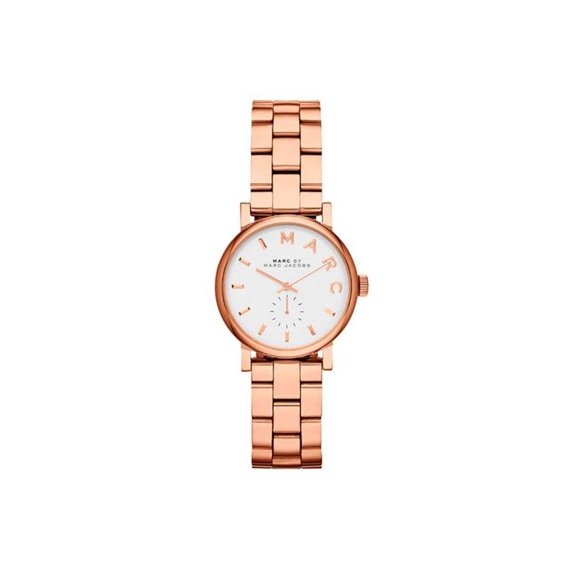 "Reloj Marc by Marc Jacobs de mujer ""Baker Mini"" en acero dorado en oro rosa MBM3248"
