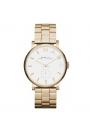 """Reloj Marc by Marc Jacobs de mujer """"Baker"""" en acero dorado oro amarillo MBM3243."""