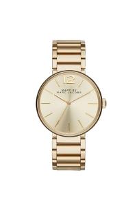 """Reloj Marc by Marc Jacobs de mujer """"Peggy"""" en acero dorado oro amarillo MBM3401."""